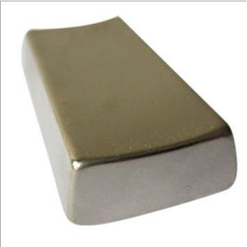 Strong Neodymium Magnet Segment with High Working Temperature and Ni Coated