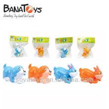 ABS perro y estilo conejo hasta juguetes de plástico