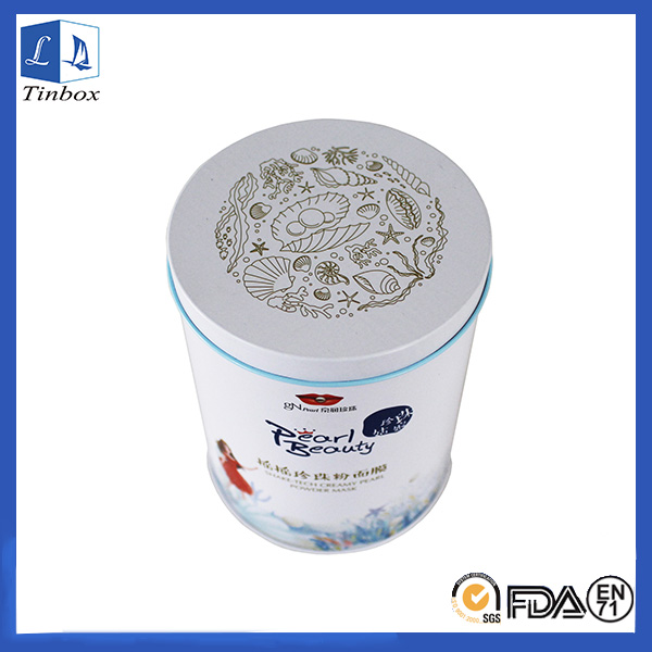 Round Cosmetic Tins Wholesale