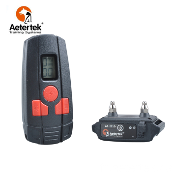 Aetertek AT-211D Stop Vibrations Choc Chien Chien