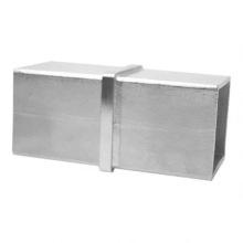 Junta de conexão de tubo quadrado de aço inoxidável