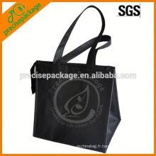 sac isotherme isolé de sac de fonction non tissé pliable