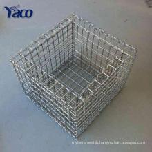 galvanized gabion stone cage , decor gabion farmhouse gabion box
