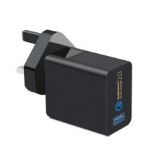 Carregador USB para adaptador de energia AC de 18W para celular