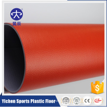 YICHEN low price vinyl flooring used Thailand indoor table tennis floor mat floor ties