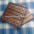 Patrones rectos con 6 láminas de azulejos de la cubierta de Acacia - cubierta impermeable al aire libre