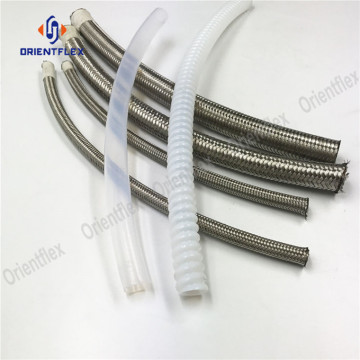 sae100+r14+PTFE+teflon+fuel+oil+hose+assembly