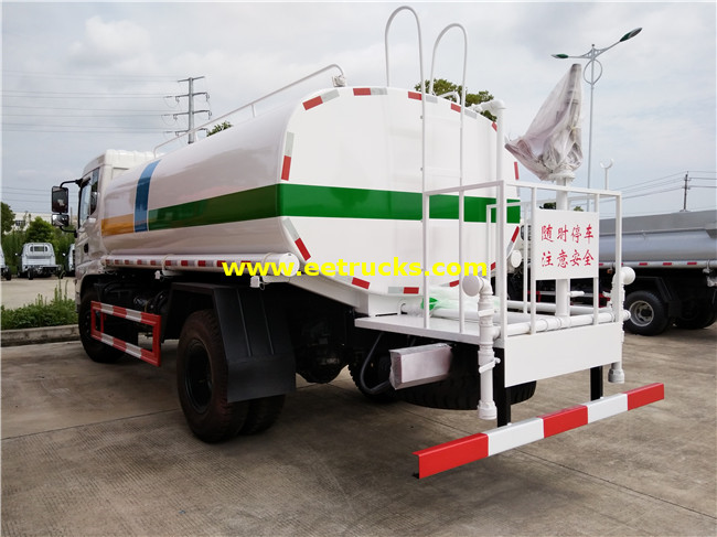 11 CBM Water Tank Trucks