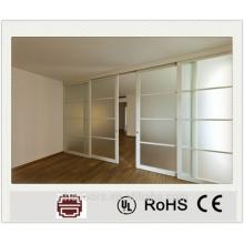 porte intérieure incroyable avec treillis en aluminium / meilleur design de porte coulissante en aluminium