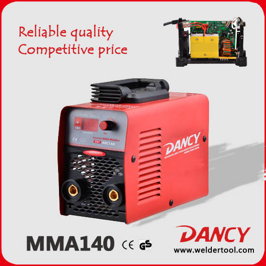 machine de soudeuse ZX7-140 MMA DC inverter