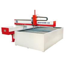 Machine de découpage de jet d'eau de feuille de métal de CNC