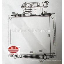 Радиатор пластикового автоцистерны из Китая для MAN TGA 81061016458 16468 16472 16510 16518