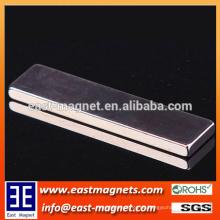Gesinterter N42 kleiner gesinterter Neodym-Blockmagnet freier Energie / Blattformmagnet für Verkauf