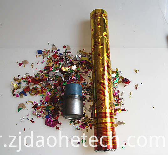 Golden Party Popper