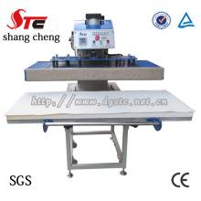 Pneumatische Zeichnung Einzelstation-Hitze-Presse-Maschine