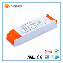 Transformador de luz de tira led 18w Condutor com corrente constante 300ma dimmable 0-10v