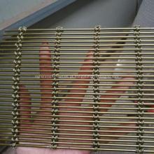 Tipo diferente rede de arame de aço inoxidável decorativa do metal