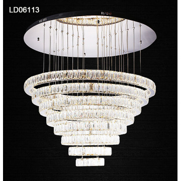 lustre en cristal suspendu lampe suspension