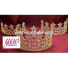 Coronas nupciales de la tiara de la boda de la princesa de la boda