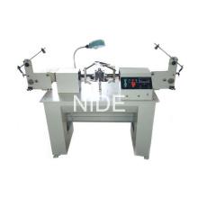 Machine de fabrication de fil à bobines à double bobine manuelle