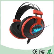 Promocional 50m m Noice que cancela el receptor de cabeza atado con alambre estéreo del juego del LED (K-919)