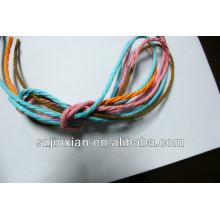 cordón de papel retorcido para el manejo de bolsas
