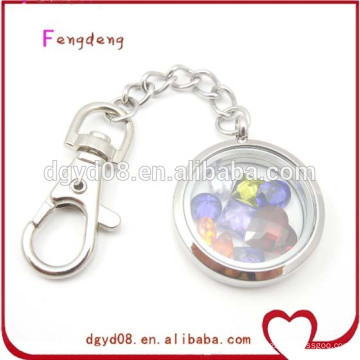 Stainless steel floating key chain