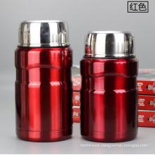 500ml/700ml Insulated Vacuum Flask Stainless Steel Food Jar