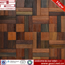 new design product bathroom wall wood mosaic tile