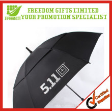 Good Quality Logo Printed Double Layer Windproof Umbrella