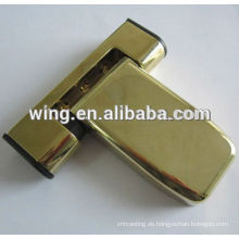 customized patch fitting glass clamp rail and motorcycle clamp