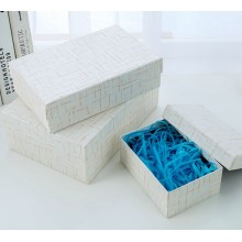 Fashion luxury paper gift box in stock