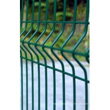358 Высокий забор безопасности