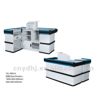 Hot Selling Custom Used Cash Counter Table Professional Design Manufacturers