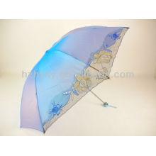 Colour Changing parapluie tissu