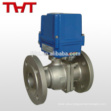 electric sanitary stainless steel ball valve dn100