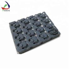 Blister plastic tray for hardware parts packaging