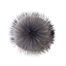 Handbag Charms DIY Snap Button Raccoon Fur Pom Ball