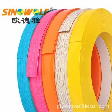 Série de borda de borda de alto brilho em PVC