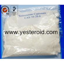 Testosterona crua Cypionate 58-20-8 do pó do esteróide anabólico da construção do músculo