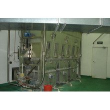 Horizontal Fluidizing Dryer for powder and granule
