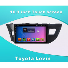 Android Sistema de navegación GPS para Toyota Levin 10.1 pulgadas de pantalla táctil con Bluetooth / MP3 / WiFi