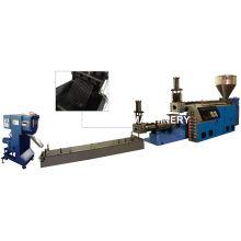 Máquina de granulação plástica de resíduos de dois estágios