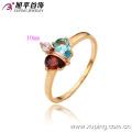 13098- Xuping 18K plaqué or bijoux en gros de luxe bague de mariage