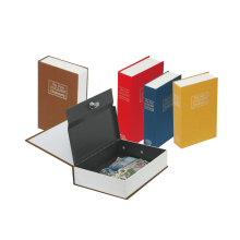 Factory supply Customized Cover  Metal Dictionary Box Hidden Book Safes in Middle Size