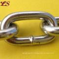 DIN764 Iron Medimum Steel Galivanized Link Chain