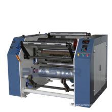 Machine de refendage et de rembobinage manuel de film étirable machine de rembobinage lldpe refendeuse prix en Chine