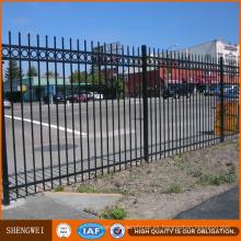 Fábrica Spear Top Metal Fence / paneles de valla recubiertos en polvo
