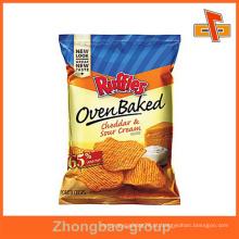 Guangzhou fabricante wholssale gravura impressão personalizado impressa batata chips embalagem saco