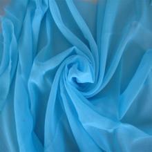 Tissu de Voile gris polyester années 60 X 60 s